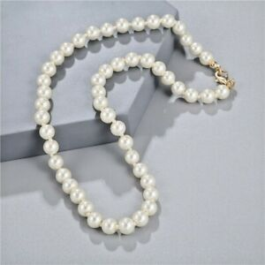 Fashion Faux  Pearl Simple Necklace