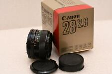 Canon FD 28mm F2.8 Wide Angle Lens GREAT CONDITION
