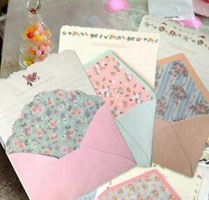 32 Cute Kawaii Lovely Special Design Writing Stationery Paper with 16 Envelope