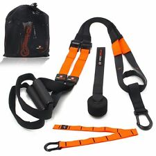 PROCIRCLE Suspension Bodyweight Training Kit Home Gym Resistance Straps Workout