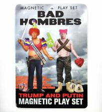 Trump and Putin Magnetic Play Set - Bad Hombres Magnets