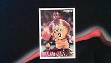 NBA 1994 94-95 Nick Van Exel Los Angeles Lakers Fleer #113