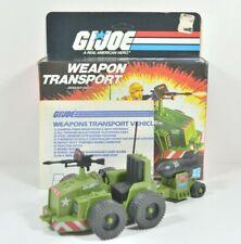GI Joe ARAH Weapon Transport 1985 100% Complete w/Box & Blueprints Unpunched