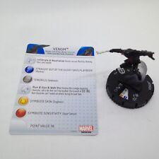 Heroclix Deadpool set Venom (with tongue) #034 Rare figure w/card!