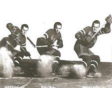 WATSON HEXTALL & PATRICK 8X10 PHOTO NEW YORK RANGERS NY NHL PICTURE HOCKEY