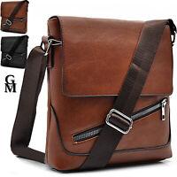 Borsello tracolla borsa uomo Buluo Casual Men Pu leather Bag