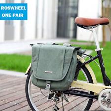 20L ROSWHEEL Bicycle Saddle Bag Bike Riding Cycling Pannier Rear Seat Rack Box