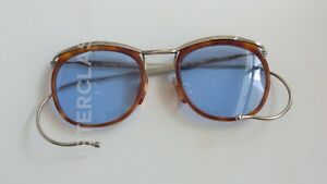 Oliver Peoples L.A. original 1933 col LBR/S Blue Glass lenses Case Made in Japan