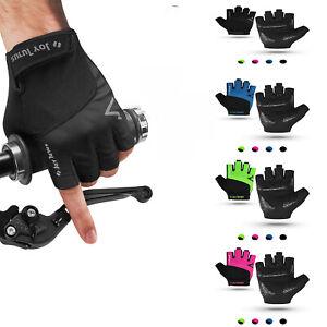 MTB Cycling Half Finger Gloves Road Bike padded Bicycle Short Gloves Fingerless