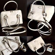 "Rare Vintage (1970s) ""Mulberry"" Ladies Leather Shoulder Bag & Original Dust Bag"