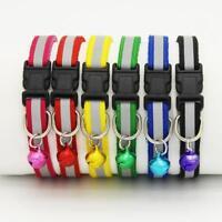 Adjuatable Dog Cat Pet Collar Night Safety Bright Flashing Necklace Collar