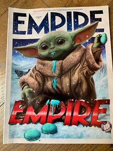 Empire Feb 2021 Film Movie Magazine Mandalorian Child Ltd Ed Subscriber's Cover