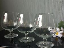 Lovely Set of 3 Shot Medium Whiskey Glasses Balloons Serving Drink 200mL Cups