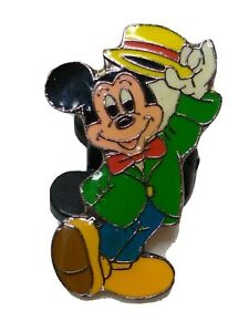 Mickey Mouse Vaudevillian Tipping Hat Propin Germany Disney Pin