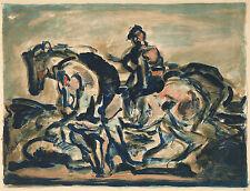 Georges Rouault Reproduction: Three Horses - Fine Art Print