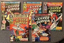 Fantasy Masterpieces Vol.2 (Silver Surfer) #'s 9,10,11,12 & 14 (Marvel Comics
