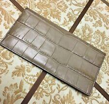 BNWT COACH Breast Pocket Wallet FOG $295