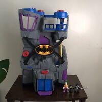 Fisher-Price Imaginext DC Super Friends Batcave Playset Lights Joker & Batman