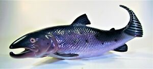 B&G BING GRONDAHL PORCELAIN SALMON FISH FIGURINE #2366