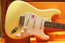 2017 Fender USA Artist Yngwie Malmsteen Stratocaster Strat White w/CASE Unplayed
