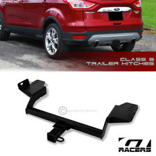 "CLASS 3 MATTE BLK TRAILER HITCH RECEIVER BUMPER TOW 2"" FOR 2013-2018 FORD ESCAPE"