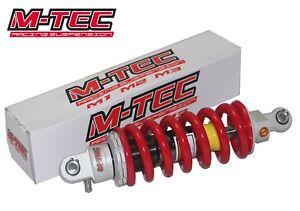 Pit bike M-Tec M2 Rear Shock Absorber Spring 310mm CW Bikes ADJUSTABLE VOLT