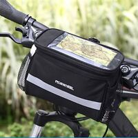 Cycling Outdoor Mountain Bike Bicycle Pouch Cycling Frame Front Top Tube Bag