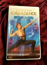 Michael Flatley Lord of the Dance VHS 1997 Clam Shell Case Original Paperwork