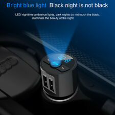 Bluetooth In Car MP3 FM Wireless Transmitter Dual USB Charger Handsfree