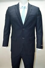 Men's Navy Blue 2 Button Modern Fit Suit SIZE 36S NEW