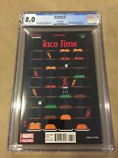 DEADPOOL #27 CGC 8.0 1:75 TACO TIME VARIANT MARVEL COMICS HTF BOOK!