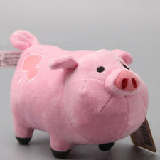 Cute Gravity Falls Waddles Pink Pig Soft Plush Stuffed TV Toy Mini Dolls MSYG