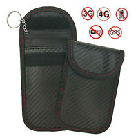 1pc Anti-theft Car Key Fob RFID Blocking Pouch Bag Signal Blocker Faraday Signal
