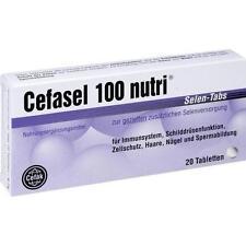 CEFASEL 100 nutri Selen Tabs Tabletten 20St PZN: 4522563