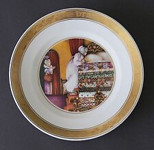 Royal Copenhagen THE HANS CHRISTIAN ANDERSEN Plate The Princess And The Pes 1975