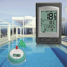 À distance sans fil flottant Thermomètre piscine jacuzzi Bassin Spa Imperméable