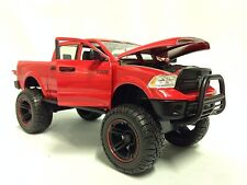 2014 Dodge Ram 1500, Off Road,Collectible,Diecast 1:24 Jada Toy,Display Box, Red