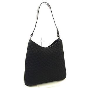 Bally Shoulder bag Black Silver Woman Authentic Used Y3165