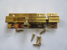Riegel Türriegel Schloßriegel Schubriegel Grendelriegel Messing 90x 25 mm