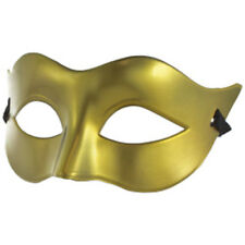 Venezianische Maske Halbmaske Halloween Fasching Karneval Party Kostüm - Gold