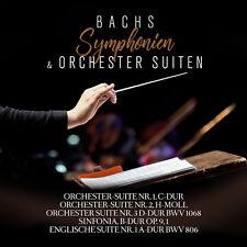 CD Bachs Symphonien und Orchestersuiten 2CDs