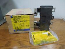 Square D QOM2125MM 125A 2P 240V Breaker New Surplus in Box