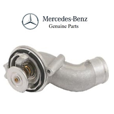For Mercedes W211 W219 Engine Cooling Thermostat w/ Housing 87 deg. C Genuine