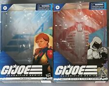 GI Joe Classified Arctic Storm Shadow #14 2020 Amazon  + Scarlett #05 BOX ONLY