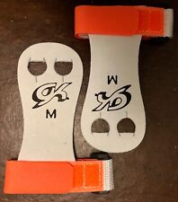 Was $15.99 Nwt Gk Elite Gymnastics Hand Grips With Straps Gk32 Orange Sz Medium