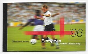 GB Prestige Stamp Booklet 1996, European Football Championships, MNH