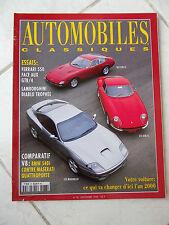 Magazine Automobiles Classiques n°78 Ferrari 550 275 GTB/4 365 GTB/4 Bmw 540i