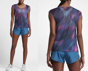 New Nike Women's Top Size M /Light Running/ t-shirt/gym/NIKE BREATHE/DRI-FIT/£37