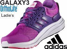 Adidas Galaxy 3 Cloudfoam Ortholite Purple Pink Running Shoes Size 10.5 UK