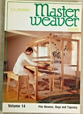 MASTER WEAVER LIBRARY, VOLUME14, BY S. A. ZIELNSKI,1983.PILE WEAVES, RUGS & TAPS